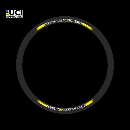 Imagem de Rodas C38 One Carbon par pneu