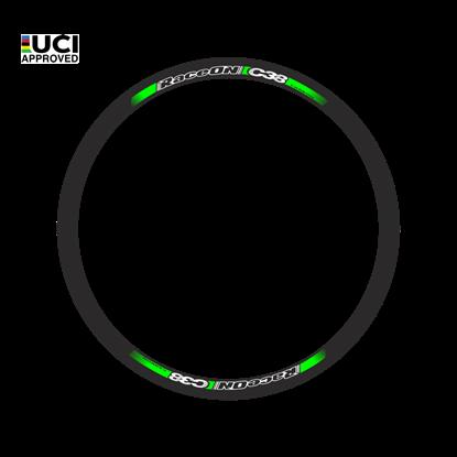 Imagem de Rodas RaceON C38 Carbon par - 1290 gr. tubular