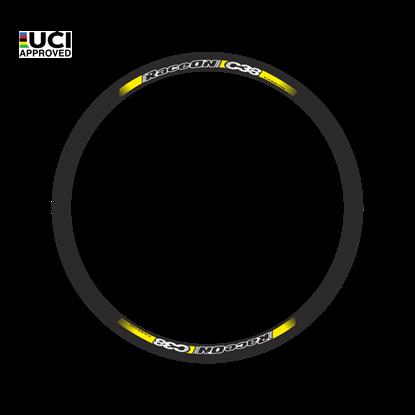 Imagem de Rodas RaceOn C38 Carbon par - 1480 gr. pneu
