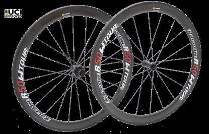 Imagem de Rodas R50 World Tour Carbon - 1430 gr. pneu