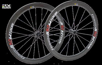Imagem de Rodas R50 World Tour Carbon - 1250 gr. tubular