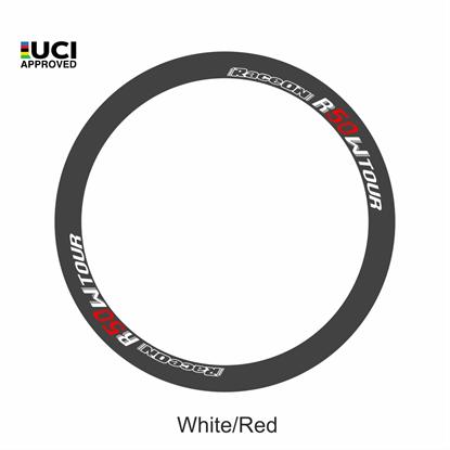 Imagem de Roda R50 World Tour Carbon trás - pneu