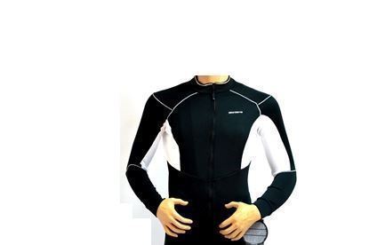 Imagem de Camisola Senhora Body Clone - preto/branco