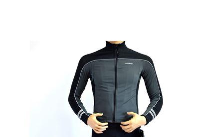 Imagem de Casaco Senhora Body Clone - preto/cinza
