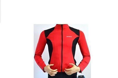 Imagem de Casaco Senhora Body Clone - preto/vermelho