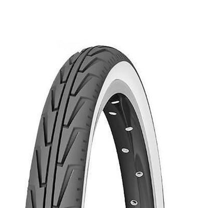 Imagem de Pneu Michelin Diabolo City 450A Confort preto/branco