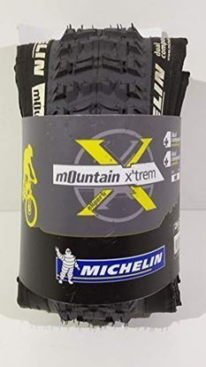 Imagem de Pneu Michelin Mountain X'trem 26x2.20 preto/cinza - kevlar