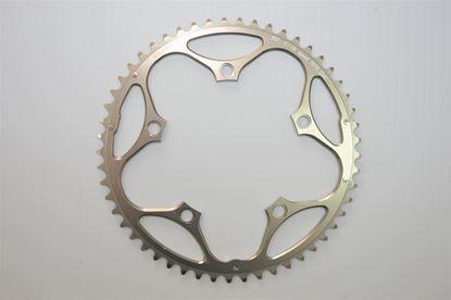 Imagem de Roda pedaleira Stronglight Road 130x53T Zicral 9/10v bronze