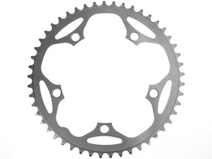 Imagem de Roda pedaleira Stronglight Road 130x52T Dural 9/10v prata