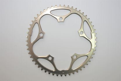 Imagem de Roda pedaleira Stronglight Road 110x49T Zicral 9/10v bronze