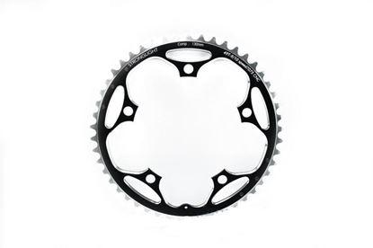 Imagem de Roda pedaleira Stronglight Campy ISO 135x48T Zicral 10v preto