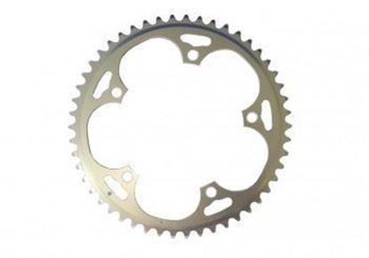 Imagem de Roda pedaleira Stronglight Campy ISO 135x52T Dural 10v prata