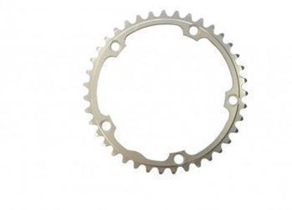 Imagem de Roda pedaleira Stronglight Campy ISO 135x39T Dural 10v prata