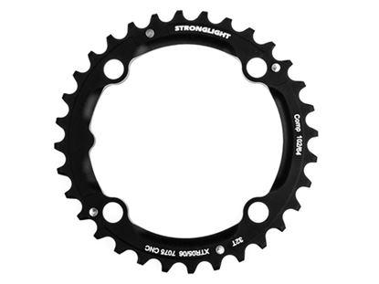 Imagem de Roda pedaleira Stronglight XTR M960 102 x 32T Zicral 3x9v