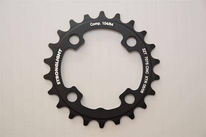 Imagem de Roda pedaleira Stronglight XTR M960 64 x 22T Zicral 3x9v