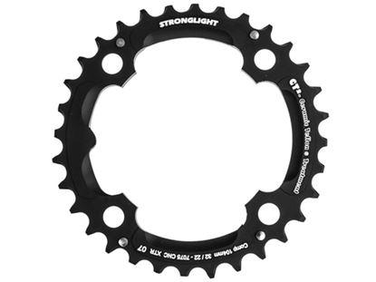 Imagem de Roda pedaleira Stronglight XTR M970 104x32T CT² 3x9v