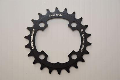 Imagem de Roda pedaleira Stronglight XTR M970 64 x 22T CT² 3x9v