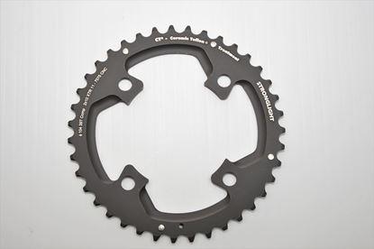 Imagem de Roda pedaleira Stronglight XTR M980 104x39T CT² 2x10v