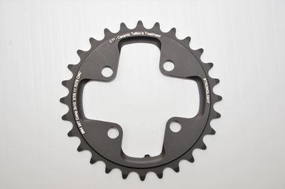 Imagem de Roda pedaleira Stronglight XTR M980 64x28T CT² 2x10v